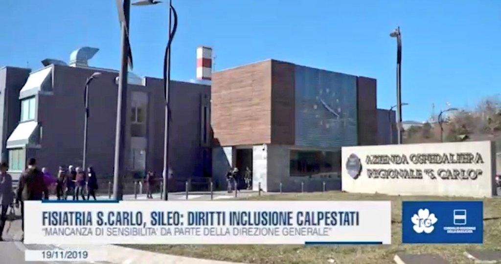 """#Fisiatria San Carlo #Potenza, @DinaSileo: """"Diritt..."""