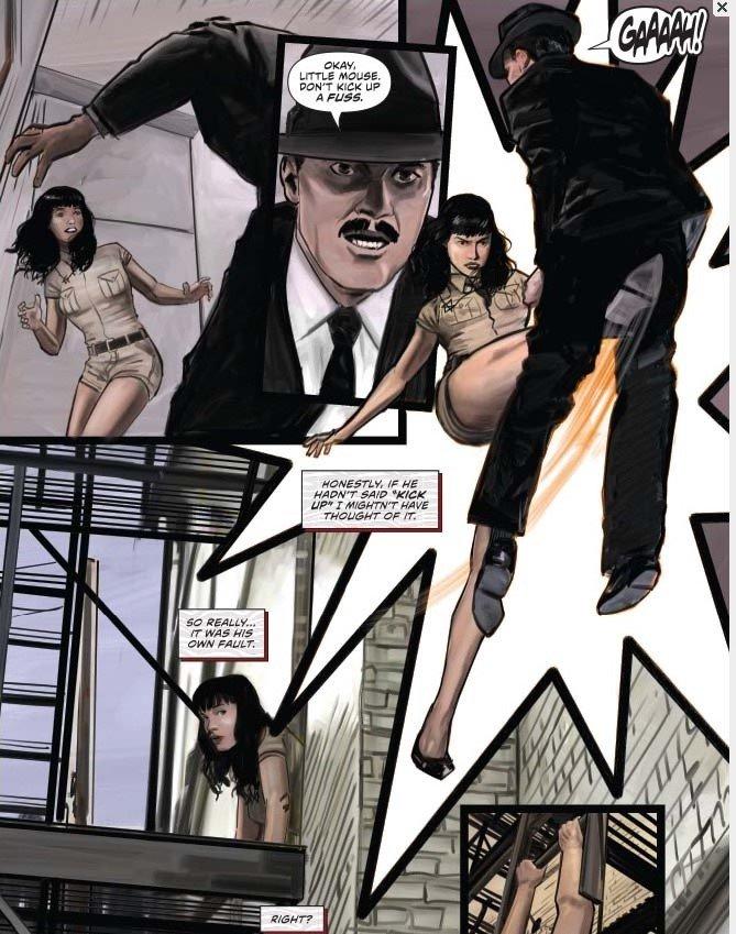 Comic ballbusting V .