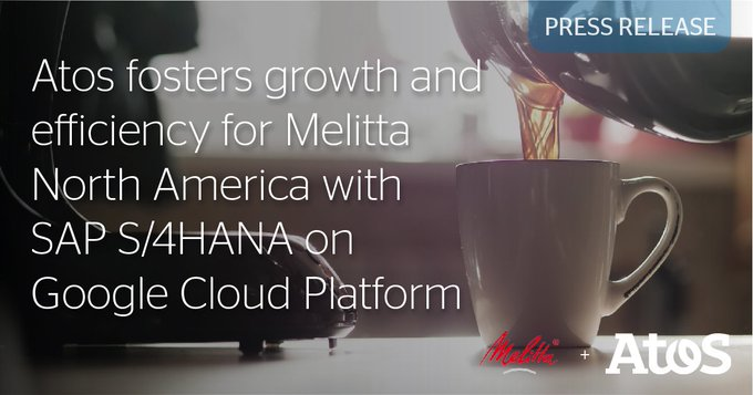 We today announce a contract with @MelittaUSA, a premium coffee company, to transform its...
