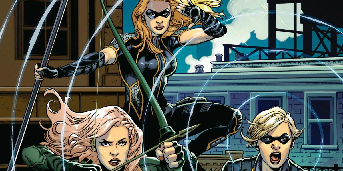 Green Arrow and the Canaries producer Marc Guggenheim confirms the spin-off is set in 2040 buff.ly/2CYntLY