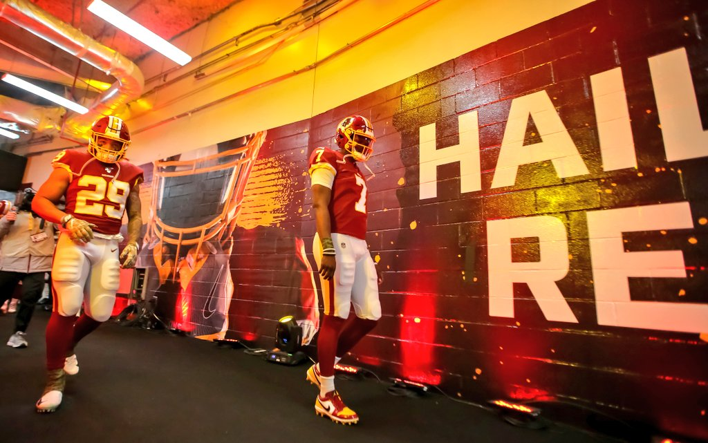 The future looks bright! Support them now. Not when things turnaround. Hail to the #Redskins. @dh_simba7 @DhaSickest