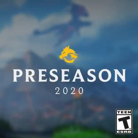 Welcome to Preseason 2020: Rise of the Elements