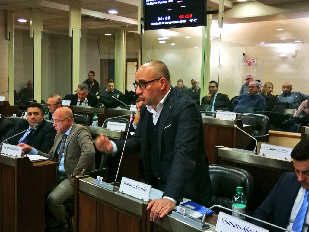 Estrazioni petrolifere, interviene Tommaso Coviell...