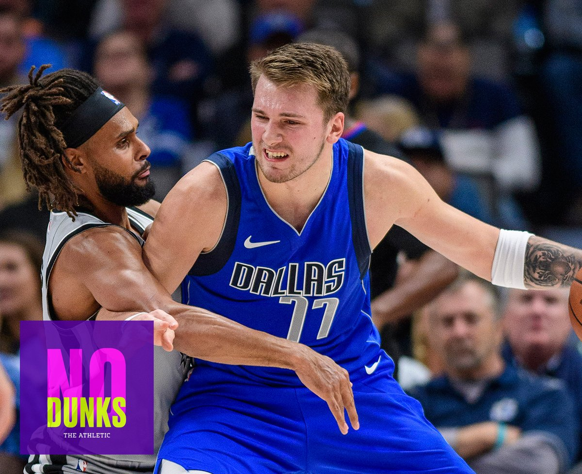 Todays pod: Is Luka a Top 10 player, KAT bombing 3s, Melo expectations, Buddys happy kick, Grizzs Vancouver throwbacks, Eddie Murphy + more! @TheAthleticNBA: bit.ly/328C8PN Apple: apple.co/2JaDO45 Spotify: spoti.fi/2xpWzKb MP3: bit.ly/2r3v6hB