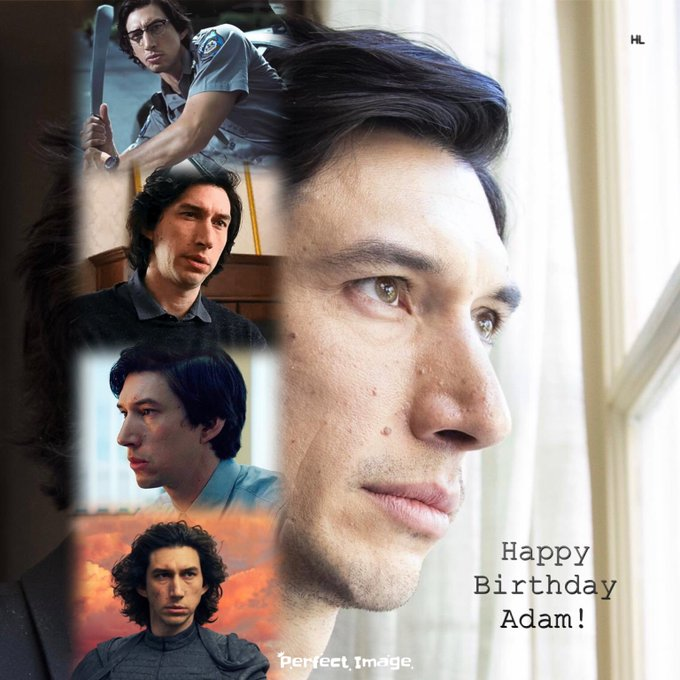 Happy Birthday to the most beautiful and talented human being in the entire galaxy...Mr. Adam Driver!!!