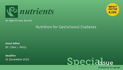 test Twitter Media - Nutrition for Gestational Diabetes, a special issue of @Nutrients_MDPI, open for submissions now. https://t.co/V5L0G9XCtG #diabetes #pregnancy #gestationaldiabetes #nutrition #Diet https://t.co/yK5rzeTn4m