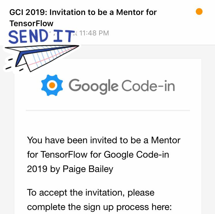 Glad to share that I will be mentoring Google Code-in students this year under Tensorflow.  #tensorflow #googlecodein #google #opensourcedevelopment #developers #web #js #javascript #reactjs #reactdevelopers #nodejs #nodejsdeveloper #reactnativedeveloper #MachineLearning<br>http://pic.twitter.com/bXOyfbFsWZ