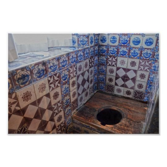 Rosenborg Castle #Copenhagen #Denmark has 2 throne rooms, one for public display with a Throne Chair in Long Hall, and this different throne, a toilet in a room decorated with Dutch tiles #CLS #WorldToiletDay zazzle.com/z/p06r2?rf=238… Zazzle Special Offers: zazzle.com/coupons?rf=238…