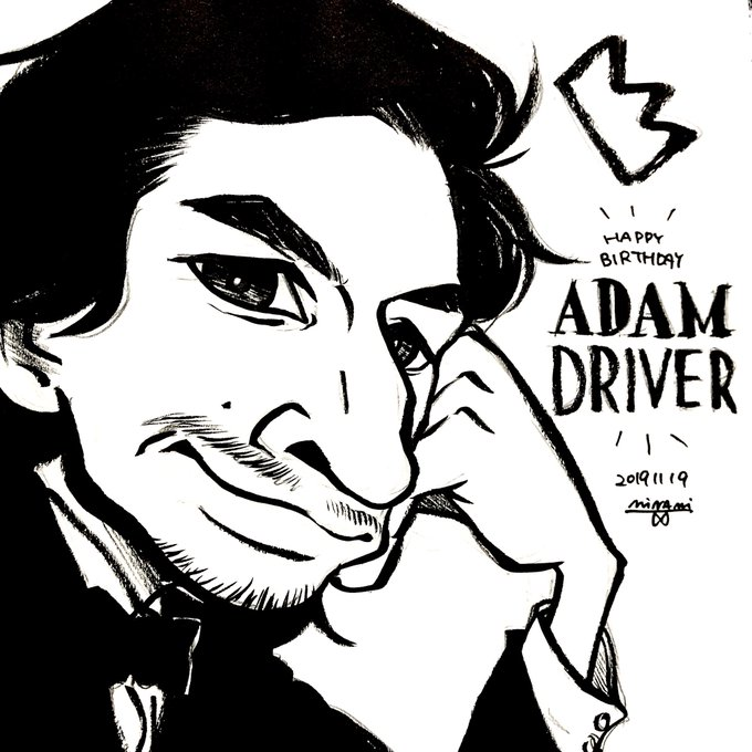 - Day 1594  Happy Birthday to Adam Driver