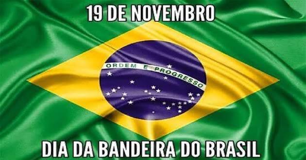 O dia da bandeira (19 Nov) é uma homenagem à bandeira brasileira que foi criada logo após a Proclamação da República. Soldados do CMN, no dia de hoje ratificamos com amor e entusiasmo o sagrado compromisso de sempre defendê-la, ainda que com o sacrifício de nossas vidas! Selva! https://t.co/uGzrWJ5TjZ