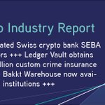 Image for the Tweet beginning: Regulated Swiss #crypto bank @WeAreSEBA