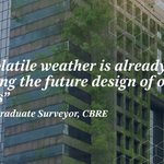 We look at what #surveyors might need to know in a world affected by #ClimateChange. Learn more https://t.co/YmcZPHSFQ2 #CBREBuildingConsultancy #BuildInsight