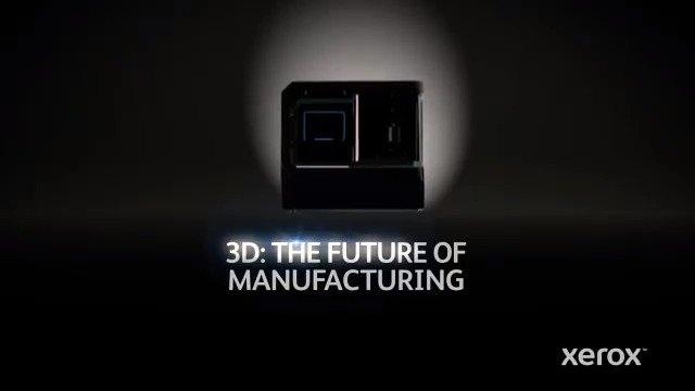 Image for the Tweet beginning: Introducing the Xerox 3D Liquid