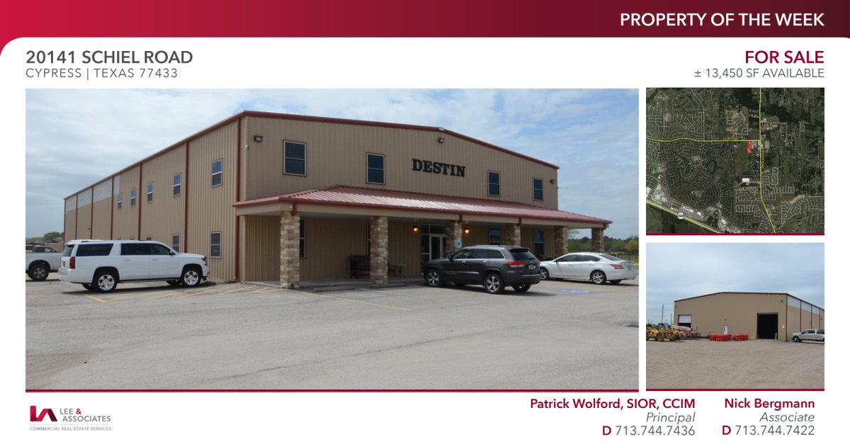 ± 13,450 SF available for sale in Cypress is this weeks #POTW. For more details click the link! https://bit.ly/33qpxIm