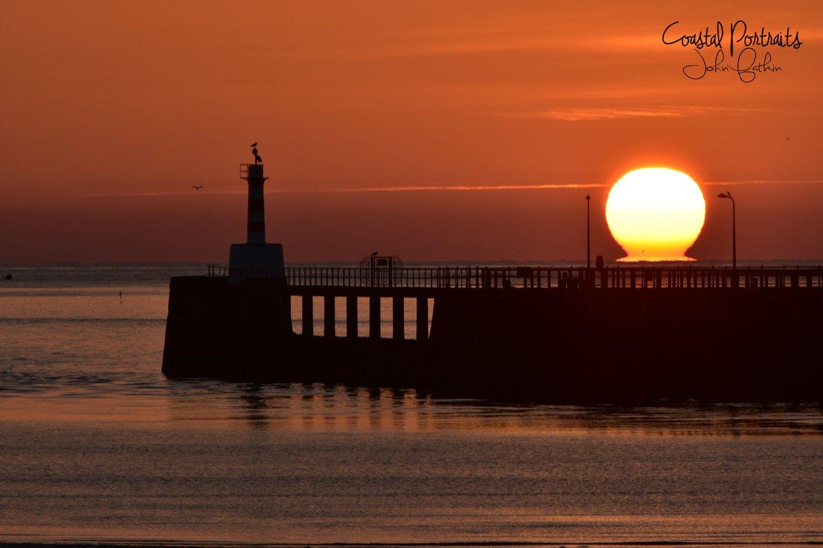 Amble Harbour Sunrise Northumberland #StormHour #POTW