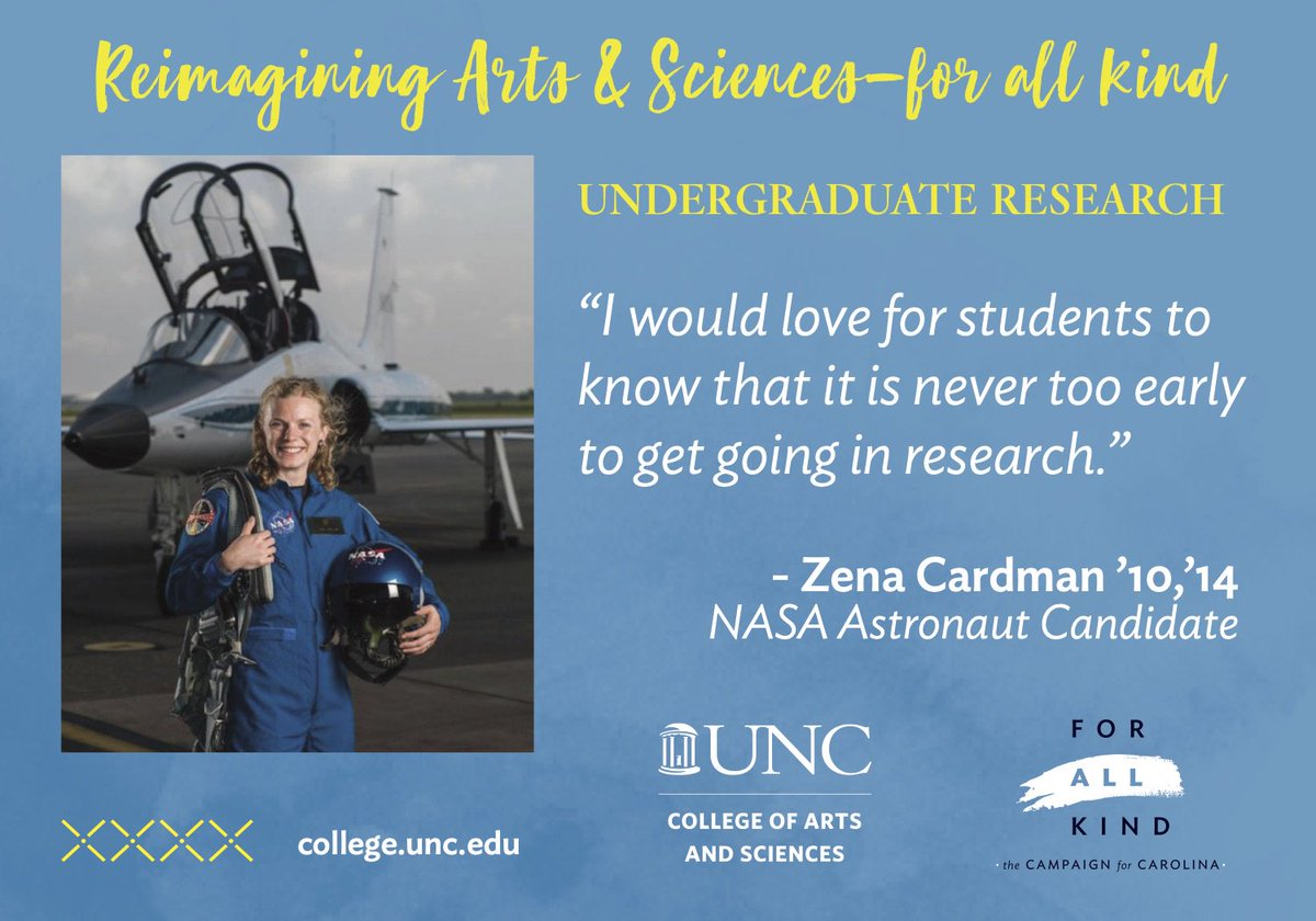Philanthropic support for undergraduate research ensures that students have opportunities to conduct cutting-edge research, preparing them to become the next generation of problem solvers and innovators. @unc_our #unc #uncchapelhill #uncforall https://t.co/EOkBd2a0Qs https://t.co…