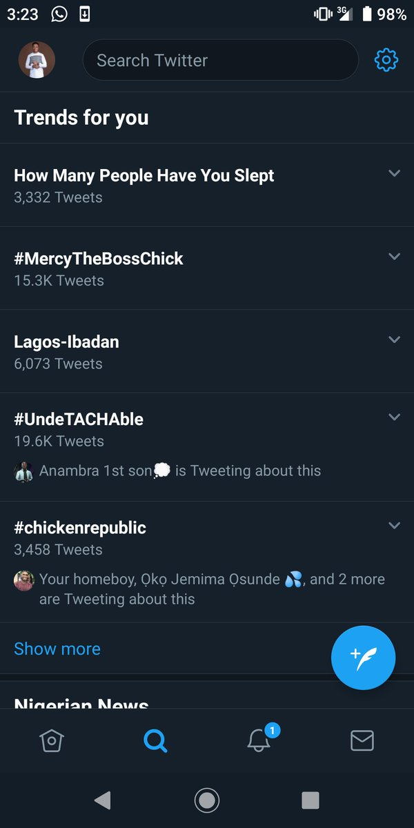 It is #InternationalMensDay2019 and it is not trending.  Our mother's, wives, sisters, girlfriends, besties, neighbours, coursemates and colleagues at work, help us and trend our day now.   Remember how we helped you on #NoBraDay?  Reciprocate the favour please.