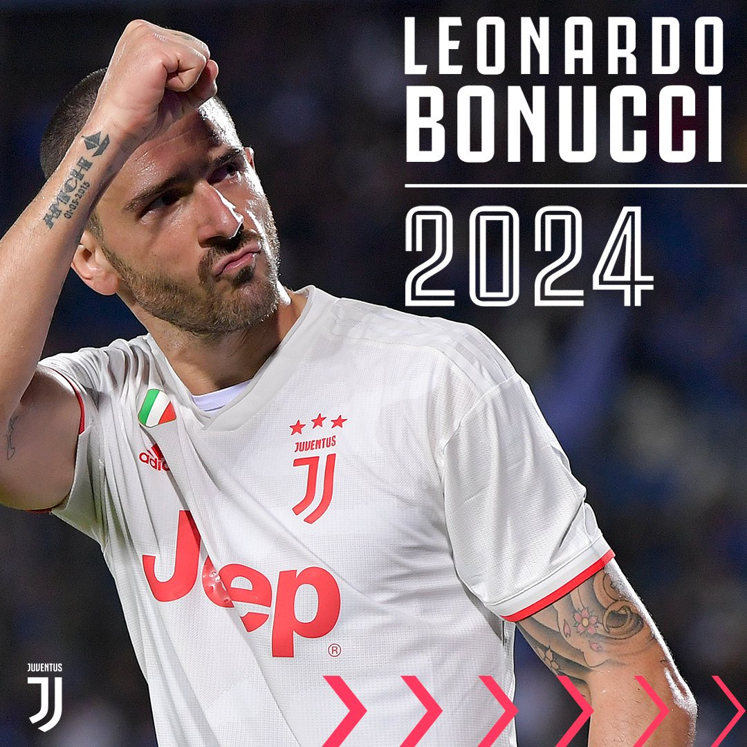 Officiel : Leonardo Bonucci prolonge jusqu'en 2024 à la Juventus