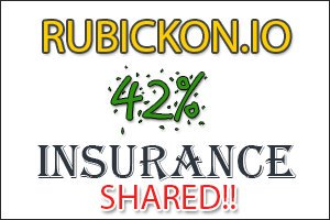 Image for RUBICKON.IO Insurance shared!