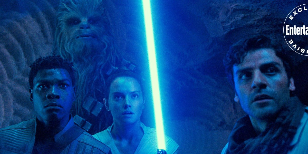 Rey, Finn, and Poe (and Chewie!) are working together in the latest images from #TheRiseOfSkywalker Check them out here ➡️ buff.ly/37jiu6y