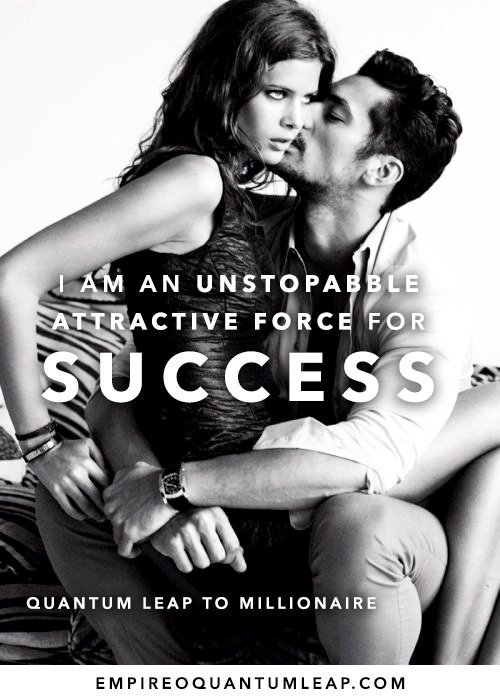 "I am an unstoppable force of attraction for SUCESS. 👯‍♀️💃🏻✊⌚💸  ""QUANTUM LEAP TO MILLIONAIRE""💰💎 ▶️ I want to know more about the program https://t.co/zfXarp0sbB https://t.co/3nj0T5yxhk"