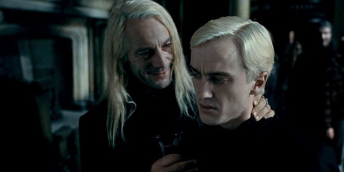 In the event a Harry Potter reboot happens, Tom Felton would like to play Lucius Malfoy. buff.ly/2KAFHHo