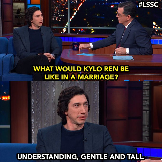 Happy Birthday to Adam Driver only