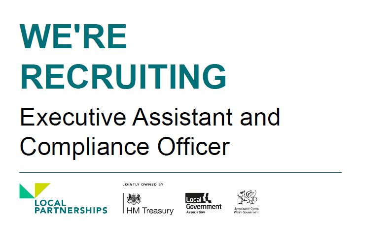 🙌 We're recruiting!🙌  We're looking for a Executive Assistant and Compliance Officer to join our London Office.  More information and apply here: https://t.co/LckKRh2pf6  #LocalGov #Recruitment