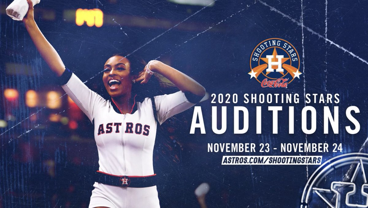 Today is the last day to pre-register for this weekend's @AstrosStars auditions! ⭐️http://Astros.com/ShootingStars