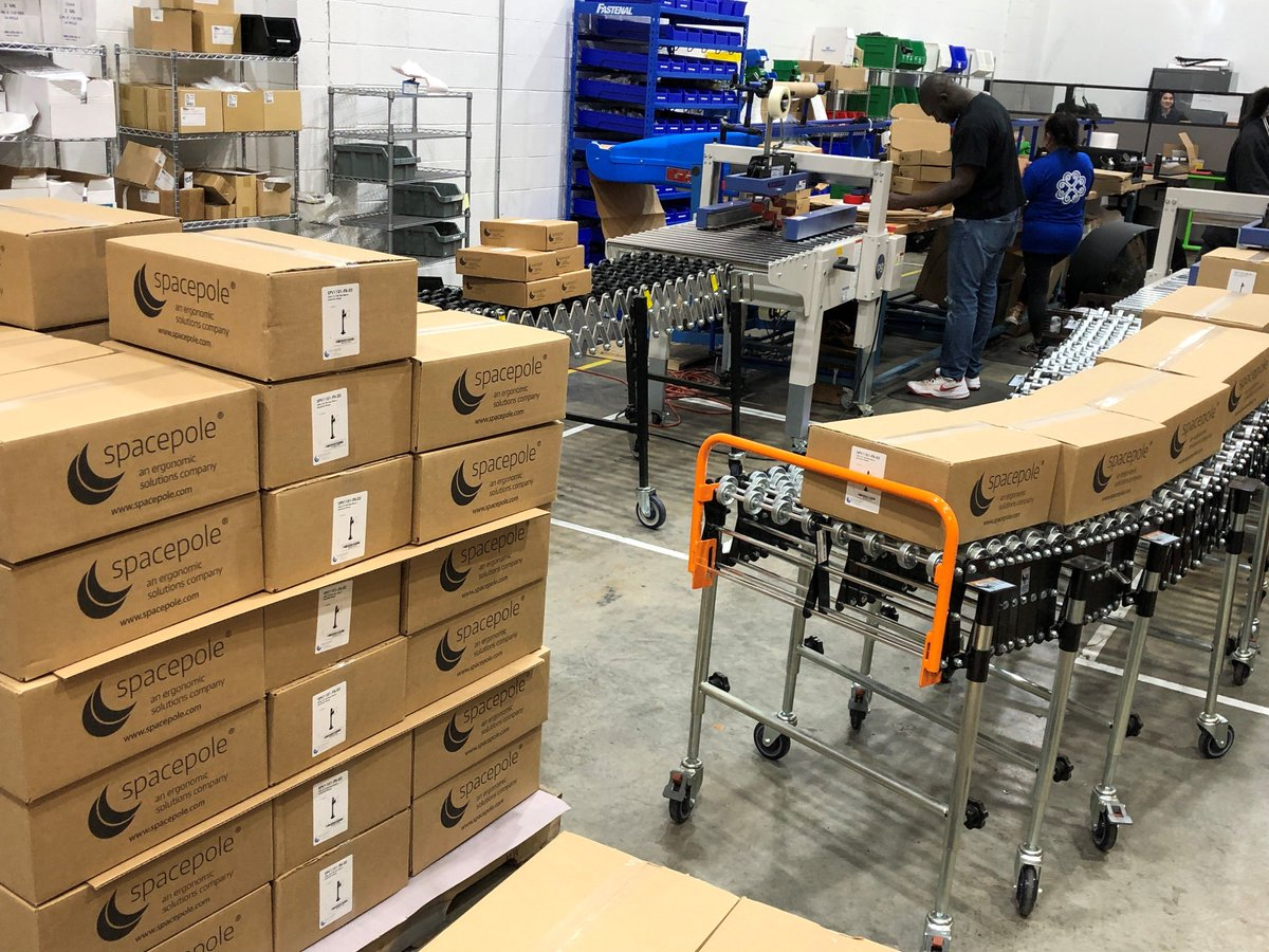 test Twitter Media - The SpacePole, Inc. crew is back at it! We're preparing to ship out a large order of mobility and tablet enclosure solutions to our customers. Check out our warehouse! 😎 https://t.co/5xFSsoj0nb  #POSmobility #TabletMounts #TabletStands #PointofSale #SpacePole #NorthAmerica https://t.co/ssrbr37Xb0