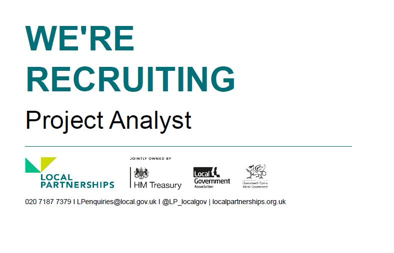 🙌 We're recruiting!🙌  We're looking for a Project Analyst to join our London Office.  More information and apply here: https://t.co/LckKRgKNQw  #LocalGov #Recruitment