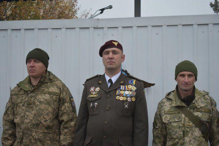 Командир 128-й отдельной горно-штурмовой бригады полковник Евгений Коростелев