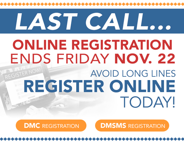 Last call!! Don't forget to register, we'd love to see you there! #DMC2019 #mxdinnovates #DoD #digitalmanufacturing #defense