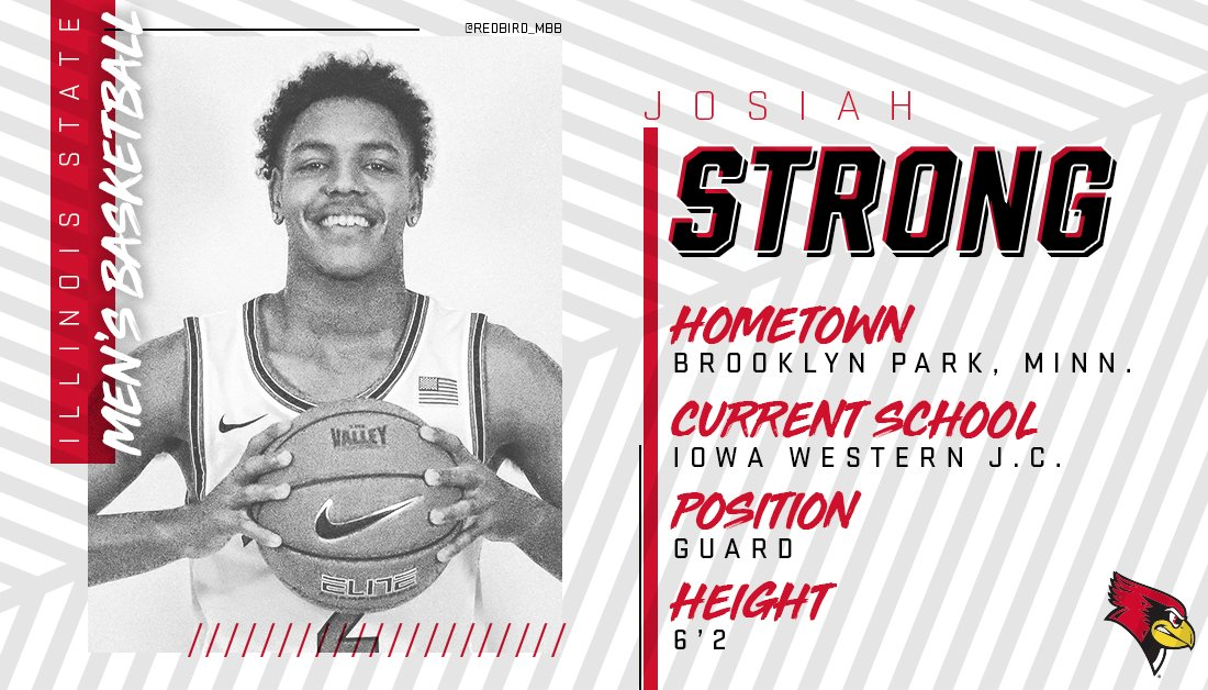 Welcome to the #REDBIRDhoops family @jbuckets5!  📰: http://bit.ly/JosiahStrong_NLI …