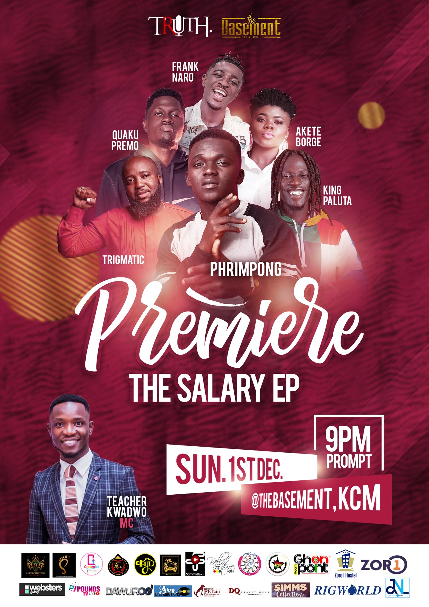EJw1ax3W4AAYh0C Phrimpong to premiere 'The Salary EP' after unveiling artwork and tracklist