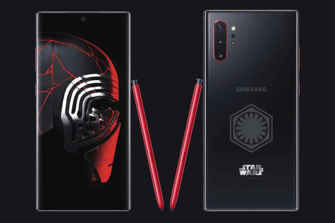 Así es la edición especial  'Star Wars: El ascenso de Skywalker' del Galaxy Note 10+  #note10plus #samsung #telefonossamsung #smartphonesamsung #celularessamsungpic.twitter.com/7x1sorgeMO