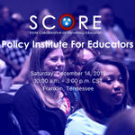 Image for the Tweet beginning: Don't miss the Policy Institute