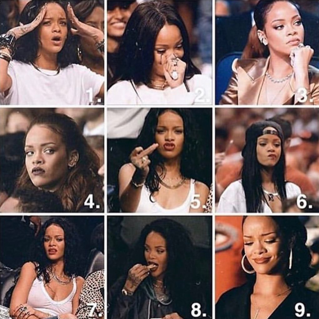 Which Rihanna are you today? <br>http://pic.twitter.com/fYeIQxvUDM