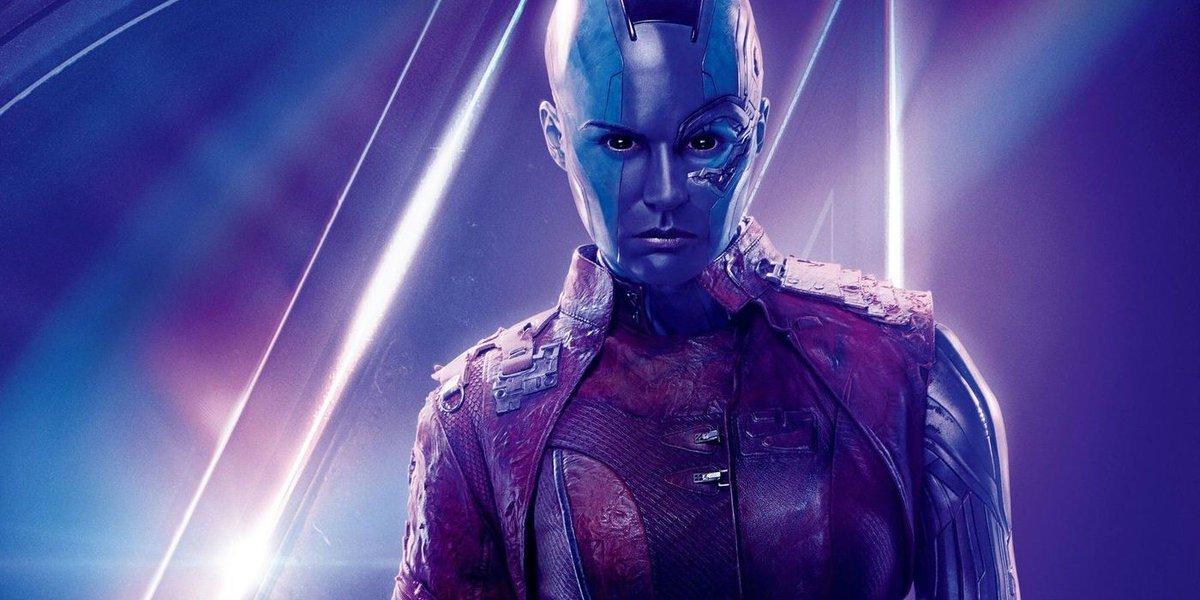 Nebula Originally Wielded the Infinity Gauntlet In #AvengersEndgame buff.ly/2OuInHJ