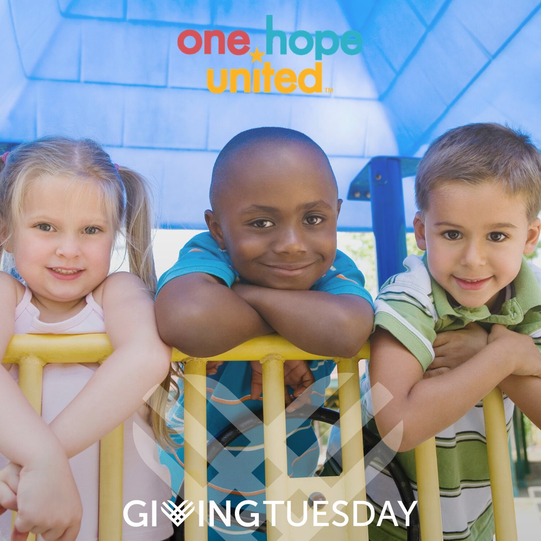 test Twitter Media - #GivingTuesday is 2 weeks away! Join us on December 3rd to show your support to the children and families that we serve at our 35 locations across the country.  #OneHopeUnited #ChicagoGives #OrlandoGives https://t.co/4lsgviHeEo