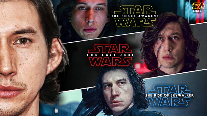 Wish a very happy birthday to Kylo Ren himself, actor Adam Driver, as he turns 36 years old today!