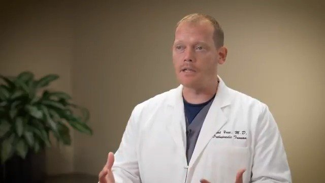 """""""The majority of my patients fall into two categories,"""" orthopaedic surgeon Kurt Yusi, MD, said.  https://www.spartanburgregional.com/find-a-doctor/kurt-yusi…   #ortho #trauma #surgeon @sptbgregional"""