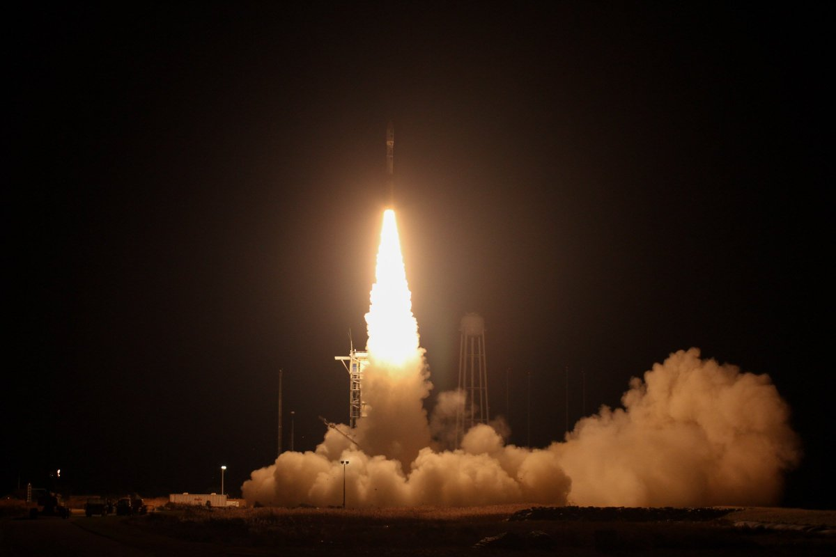 #OTD in 2013 - The Minotaur 1 rocket made history after carrying the TJ3Sat into space - the 1st satellite designed & built by high schoolers. The rocket also carried the @usairforces STPSat-3, 28 cubesats & 2 non-separating tertiary payloads. Photo by @NASA