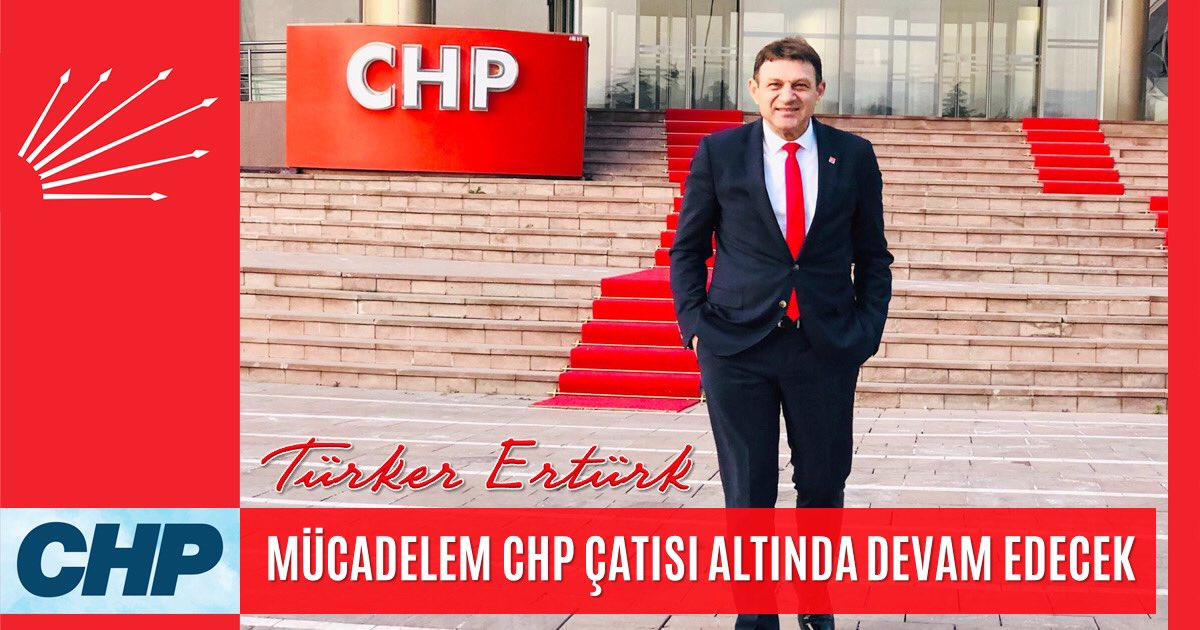 Mücadelem CHP Çatısı Altında Devam Edecek   http://www.turkererturk.com.tr/mucadelem-chp-catisi-altinda/