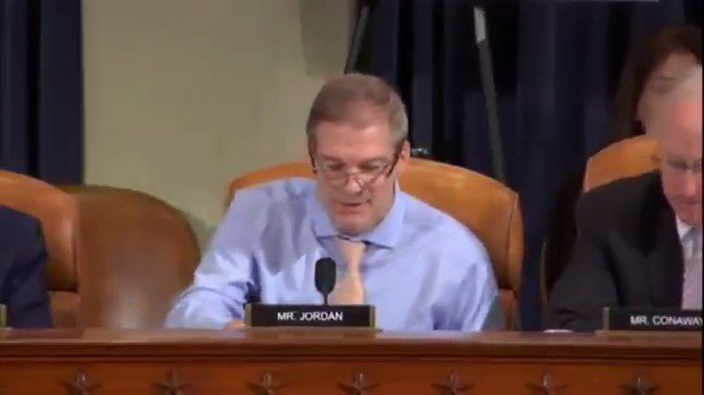 """Rep. @Jim_Jordan: """"The Democrats have never accepted the will of the American people. The Democrats don't trust the American people."""""""