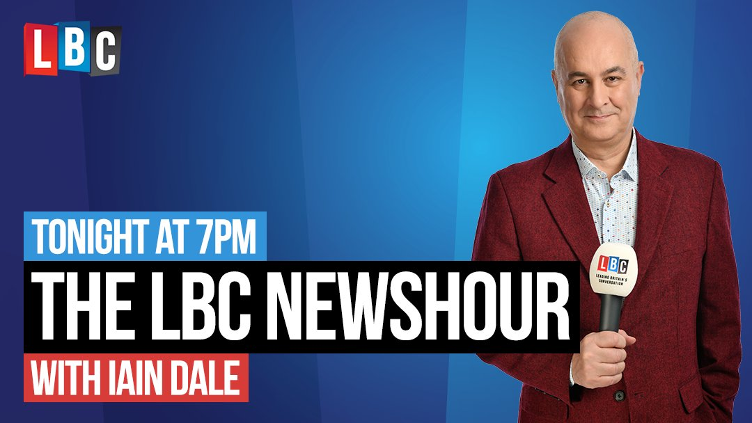 On the @LBC Newshour from 7pm...  * ITV debate preview live from Salford * Shrewsbury & Telford hospital * Prince Andrew latest * Marginal seat watch: Banff & Buchan * Green Party manifesto launch * Professor Sir John Curtice