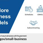 Don't know the difference between a GWAC and an IDIQ? Head to https://t.co/Ho7necGb76 to learn about different #smallbusiness contract opportunities.   #NationalEntrepreneursDay #NationalEntrepreneurshipMonth @SBAgov @GSAOSBU