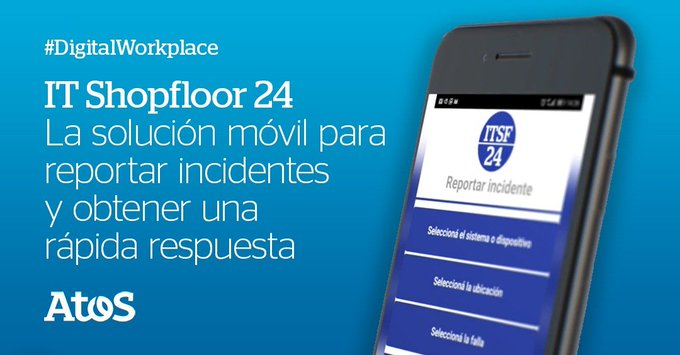 🤳Con la app #ITShopfloor24 podés obtener una respuesta inmediata ante incidentes o emergenci...