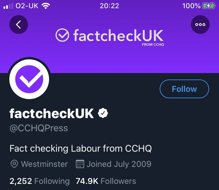 """Check out Tory HQ during the debate, and immediately afterwards. What a scam! They pretended to be an independent fact checker. And of course """"awarded"""" the debate to Boris Johnson. #ITVDebate #LeadersDebate #FactCheckGate<br>http://pic.twitter.com/4NvOnYSlpl"""