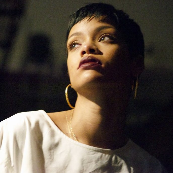 """7 years ago: Rihanna dropped her 7th studio album #Unapologetic  It spawned the global #1 single """"Diamonds"""", the Grammy-nominated ballad """"Stay"""" & the Trap hit """"Pour It Up"""", sold over 9.5 million (SPS) units WW, and won """"Best Urban Contemporary Album"""" at the 56th GRAMMYs. <br>http://pic.twitter.com/9b9tKaecec"""